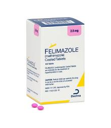 Felimazole® (methimazole) coated tablets 2.5mg